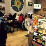 Breakfast time at Latazza cafe