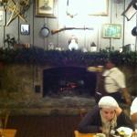 Dine by the Fireplace