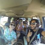 Secuestramos al hostal y nos fuimos a Coba :)