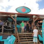 The newly renovated Aloha Beach Bar 2014