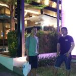 In front of Quest Hotel Semarang