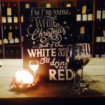 Enjoy wine with us over 80 to choose from  to drink here with us or at home