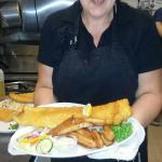 Thursdays special, cod and chips !!!