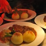 Regionale Küche mit frisch zubereiteten Gerichten...