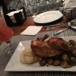 Chicken with brussel sprouts