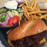 Wet Bandana Sandwich, pork/beef