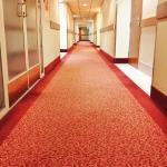 Endless long corridor