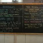 Some menu options