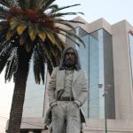 Hotel & Lennon Statue