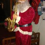 Saxxy Santa