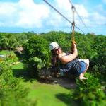 Ziplining (Photo credits don't go to me)