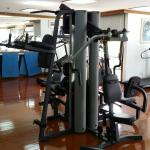 Well equiped gym