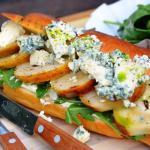 A Huber (körtés kéksajtos vega szendvics)