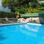 La piscine -toboggan