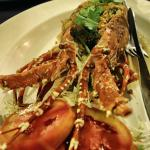 Baked lobster at 1500bht