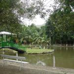 Lagoa dentro do parque