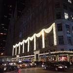 Saks Fifth Avenue Christmas display