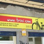 Trixi Bike sign
