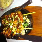 Brochettes aux crevettes