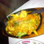Crevettes sauce thaï