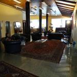 Salon d'accueil de l'Hôtel