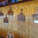Replicas (in the hotel) of wooden churches