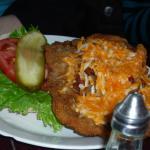 chicken schnitzel sandwich, Italian style