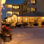 Winter wonderland at the Inn at Harbor Hill Marina