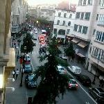 panorâmica da rua
