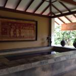Plunge pool at the Menik suite