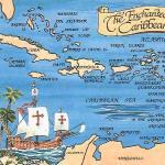 Mapa del caribe