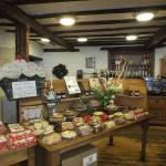 The shop, resist the cakes at your peril !