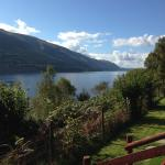 What a view when sitting on the veranda of a lodge