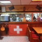authentique fromage des alpes et de suisse très chaleureux el xalet