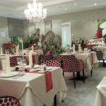 une des salle de restaurant