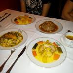 Nuestra cena.