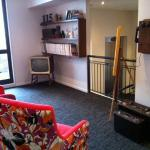 Fun lounge/reading room on 1st floor at 115