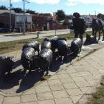 Monumento a El Ovejero, Punta Arenas