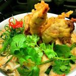 Chef's Special: Spicy Soft Shell Crab Ubon Noodle Soup