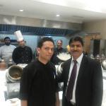 Anil Raina, Chef Vipin, & Chefs