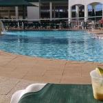 Poolside drinks in the sun - beautiful.