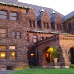 James J Hill Mansion on Summit Ave had beautiful wooden trim work and furniture inside.
