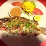 Red snapper bbq