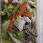 Combination long & short soup. Yuuuum..!