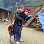 Kids at Taphin village - so cute