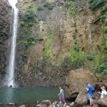 Trek to waterfall