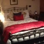 Comfy double bed ( downstairs room)