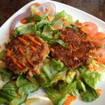 Towpath Cafe - Lobster cake salad
