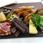 Charcuterie and cheese board - great value and flavours