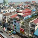 view over Phnom Penh